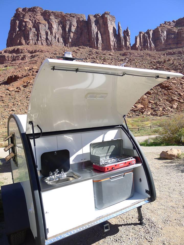 Light, smart on/off-road teardrop trailer is as cute as a Bean