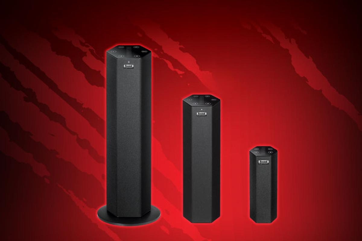 The Sound Blaster Axx speaker solutions from Creative feature stacked stereo speakers and are said to offer big sounds from units powered via a USB port