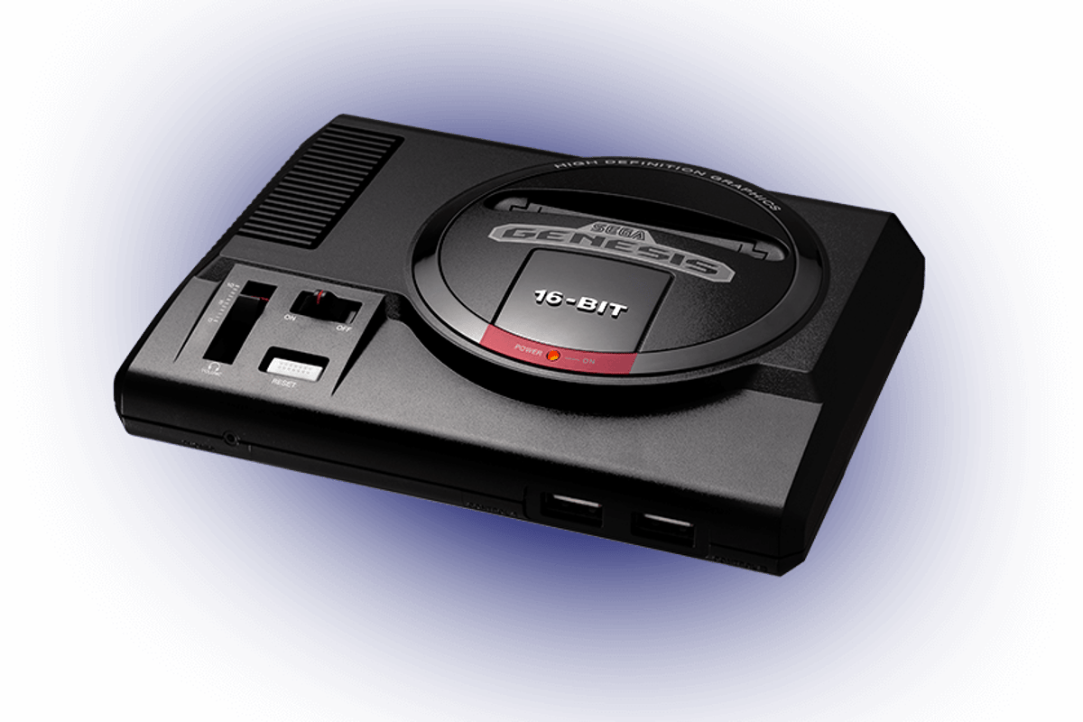 The Sega Genesis Mini is a retro console that comes with 40 games pre-installed