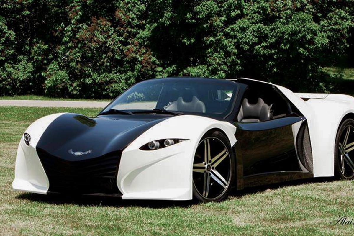 The Dubuc Tomahawk, set to debut at CES2018 in production form