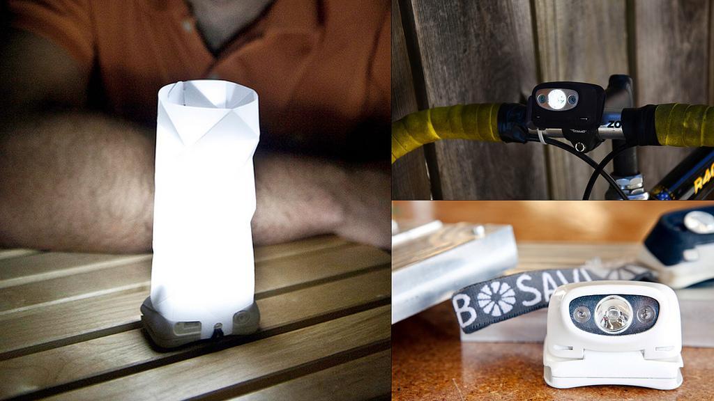 Bosavi combines three types of lighting into one device (Photo: Joseph Schell)