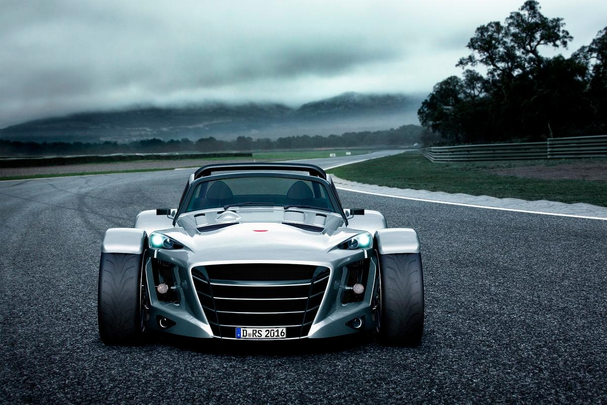 The D8 GTO-RS has an angrier face