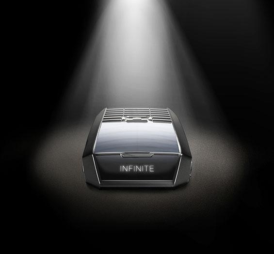 The Tag Heuer uses light for power