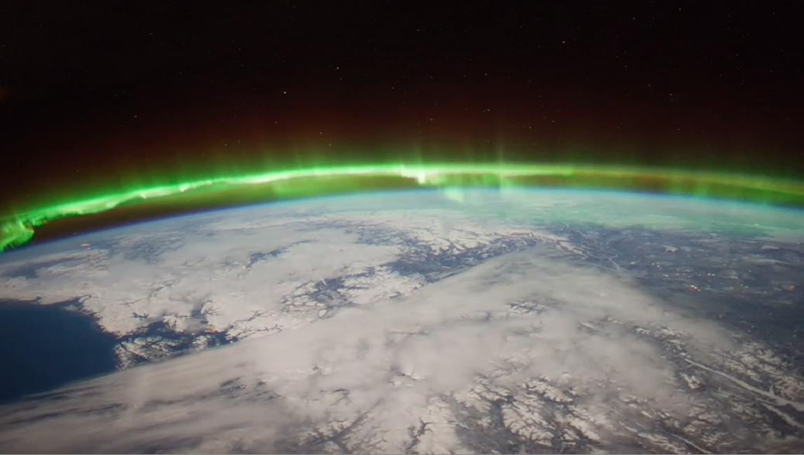NASA's new study, which focused in part on the pictured auroral region, will help allow scientists to predict when and where ionosphere irregularities will occur (NASA/JSC)