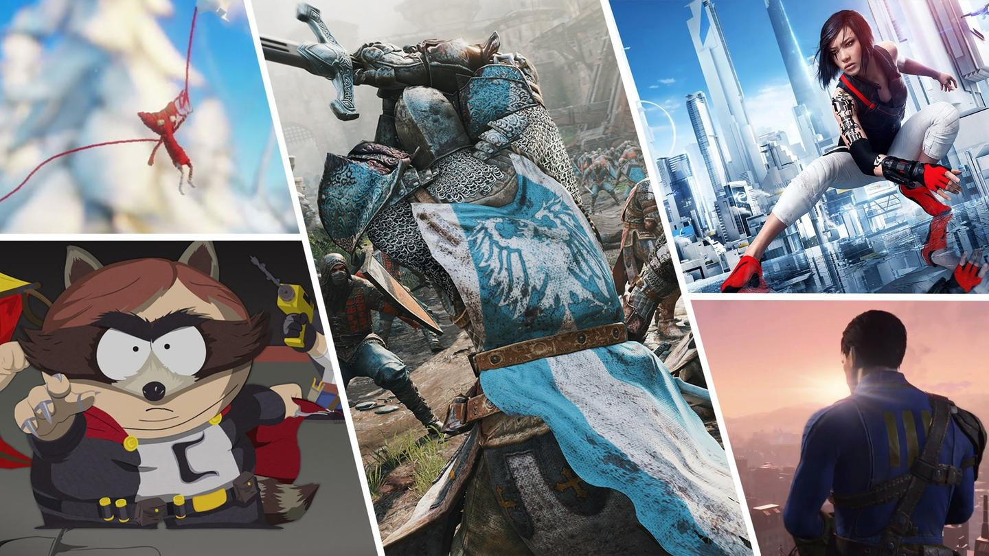 There were some great reveals from third-party publishers at this year's E3 show