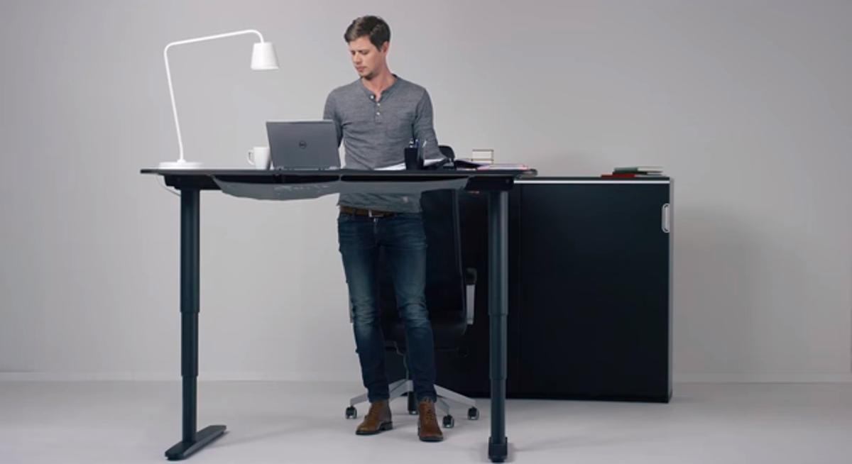 Ikea is looking to tap into the standing desk craze with Bekant
