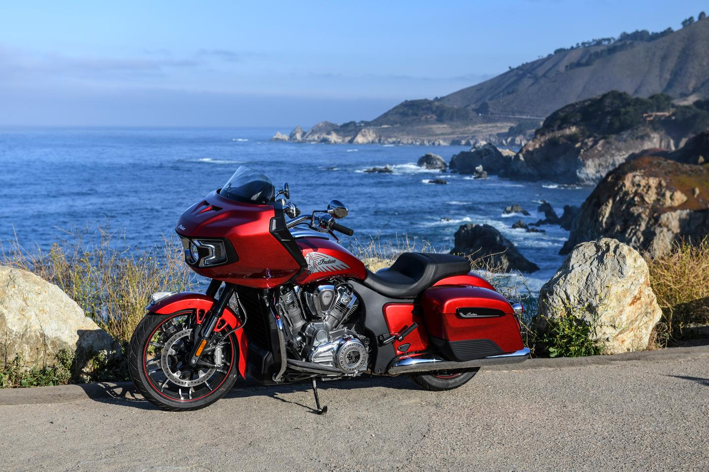 The Challenger is a show across the bows of Harley's Road Glide series