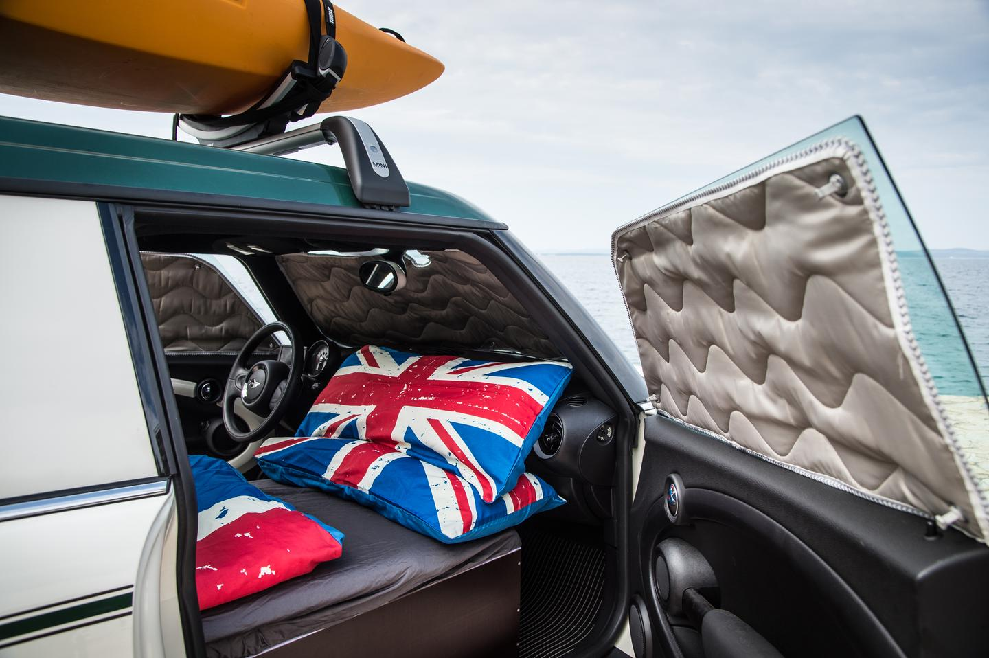 MINI has chosen the height of the British summer to unveil its new motoring-cum-camping concepts aimed at music festival goers and outdoor types