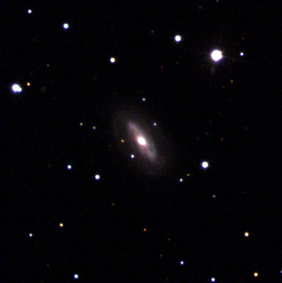 The galaxy J0437+2456, which is thought to be home to a moving supermassive black hole