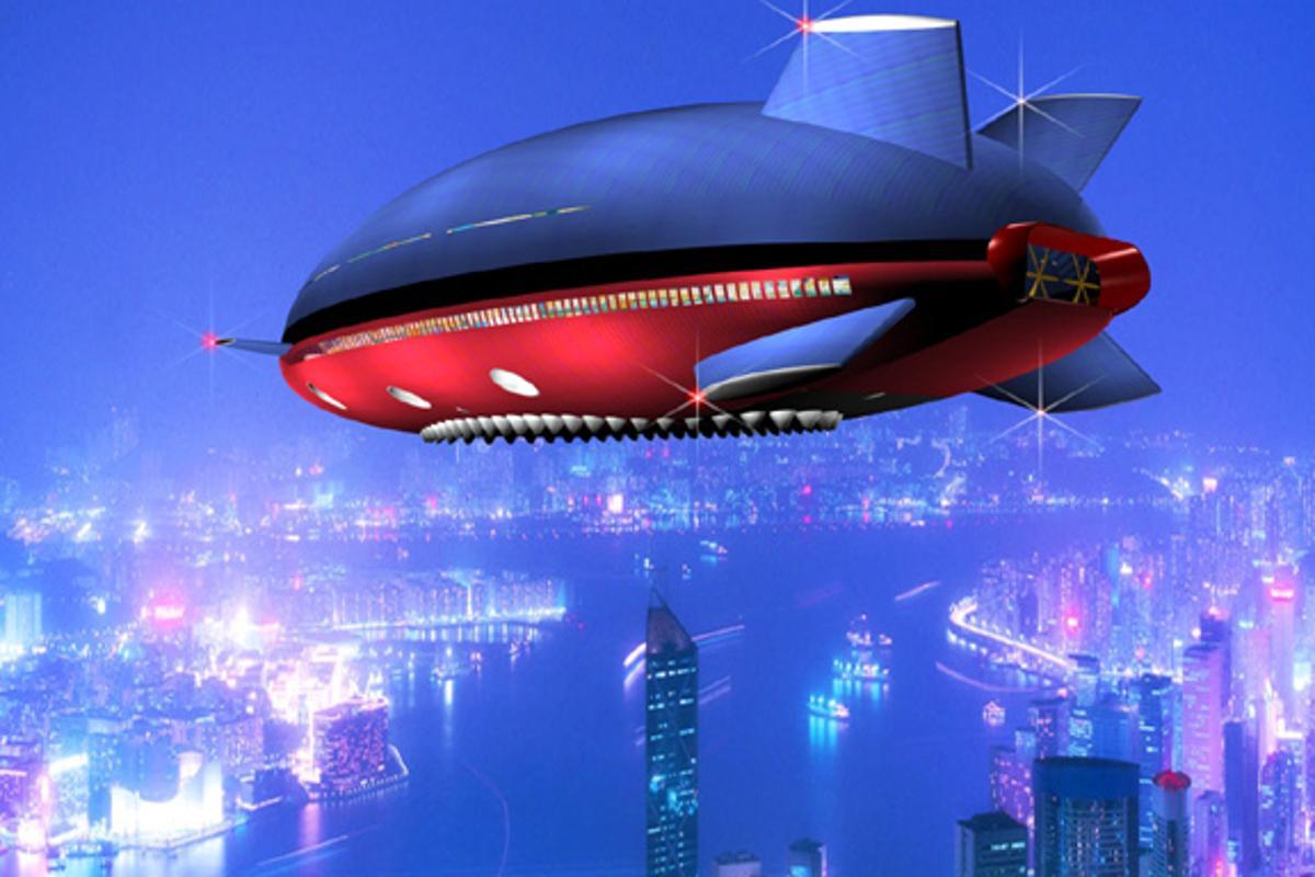 Artists rendering of the Aeroscraft