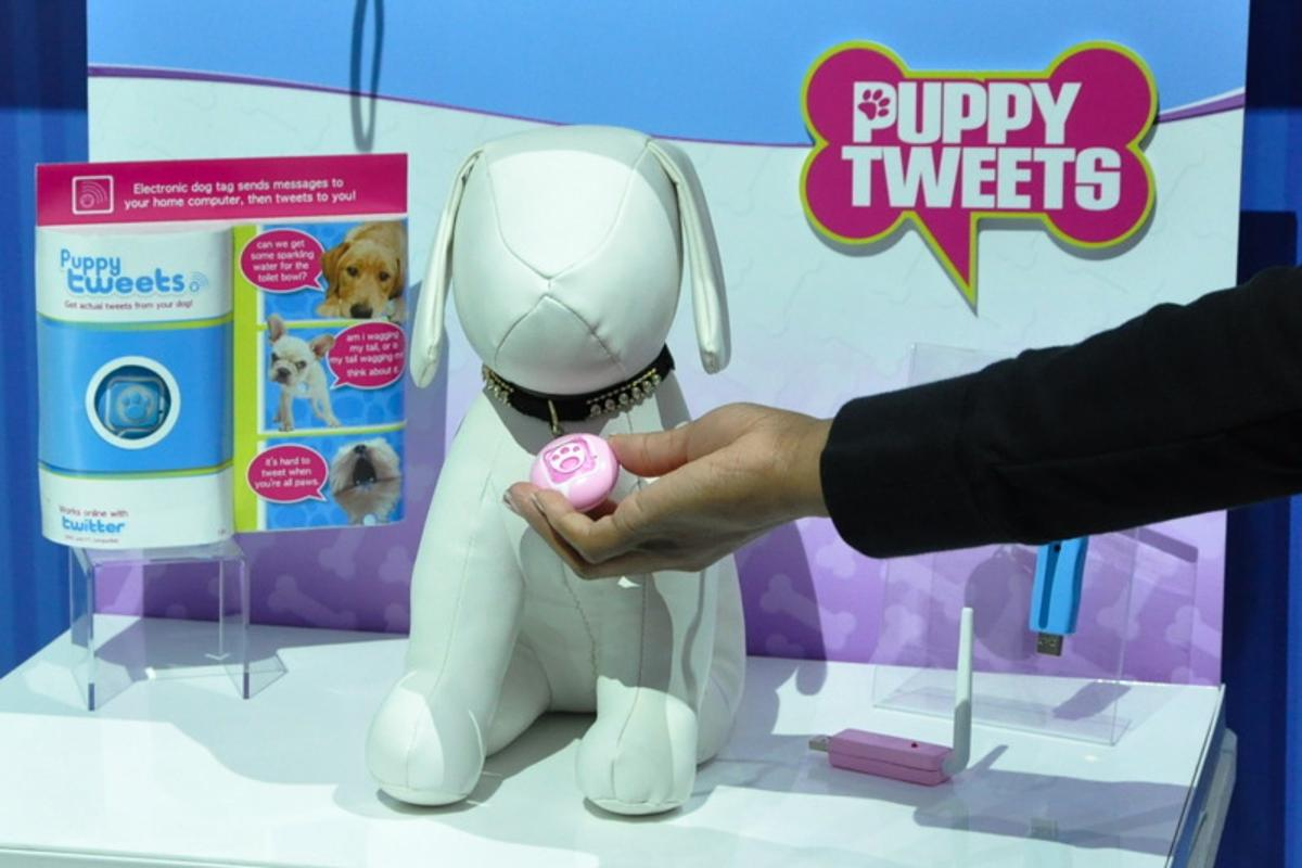 Puppy Tweets lets you know what your furry friend has been up to throughout the day