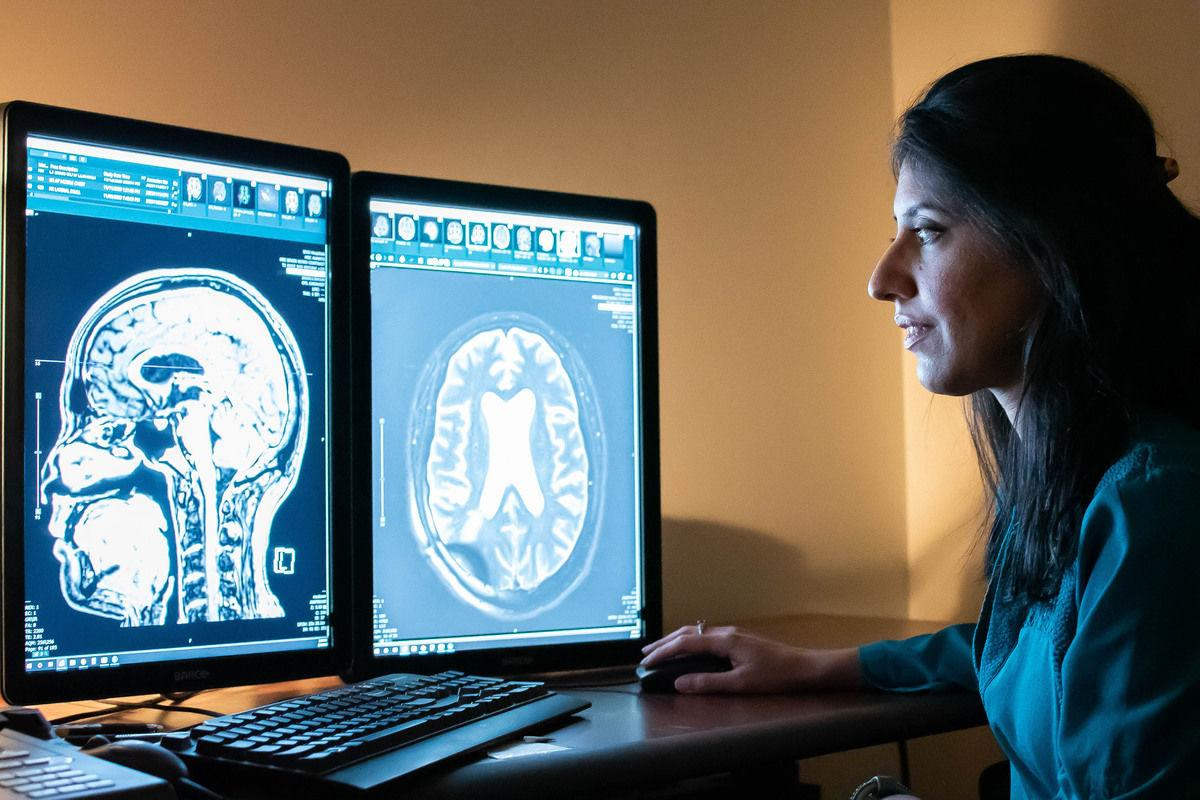 Rashi Mehta led a research team at West Virginia University investigating targeted ultrasound as a potential treatment for Alzheimer's