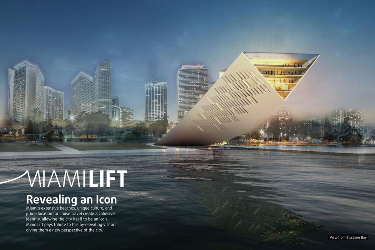 Miami Lift concept (Image: Studio Dror)