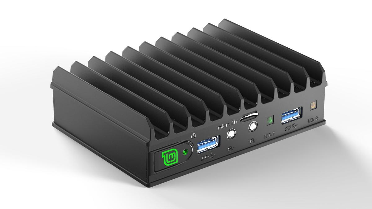 The MintBox Mini 2 has been developed in collaboration with Linux Mint