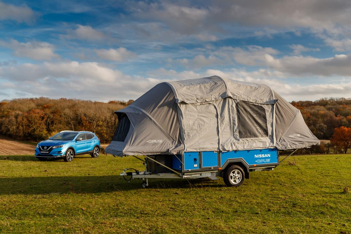 Nissan x Opus concept camping trailer