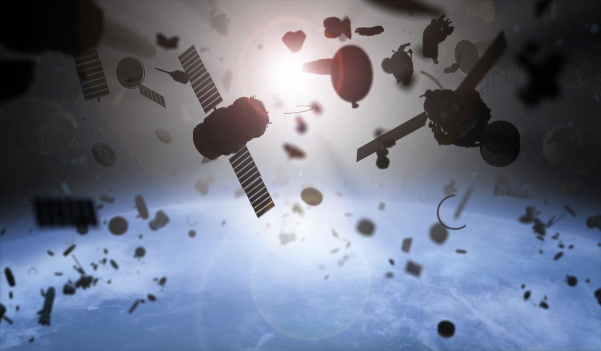 According to NASA, there are over 500,000 pieces of space debris currently orbiting our planet