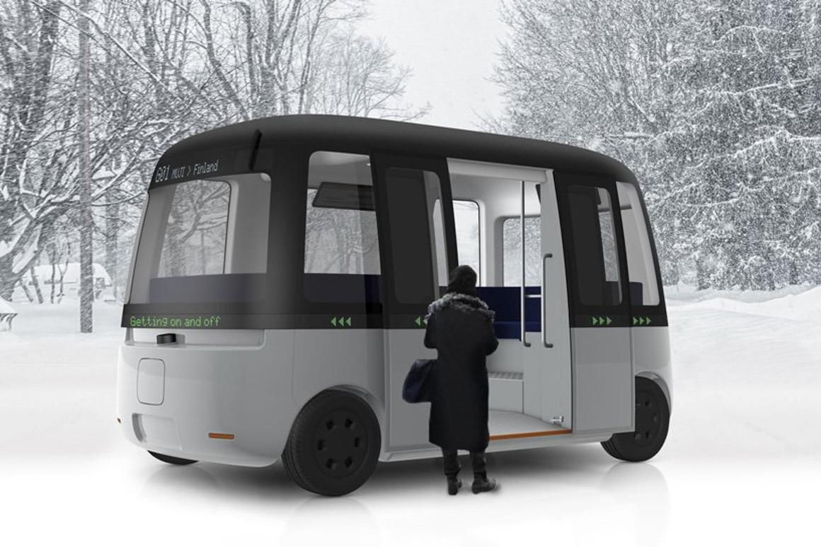 The new Muji-designed autonomous shuttle bus set to roll out for trials in 2019