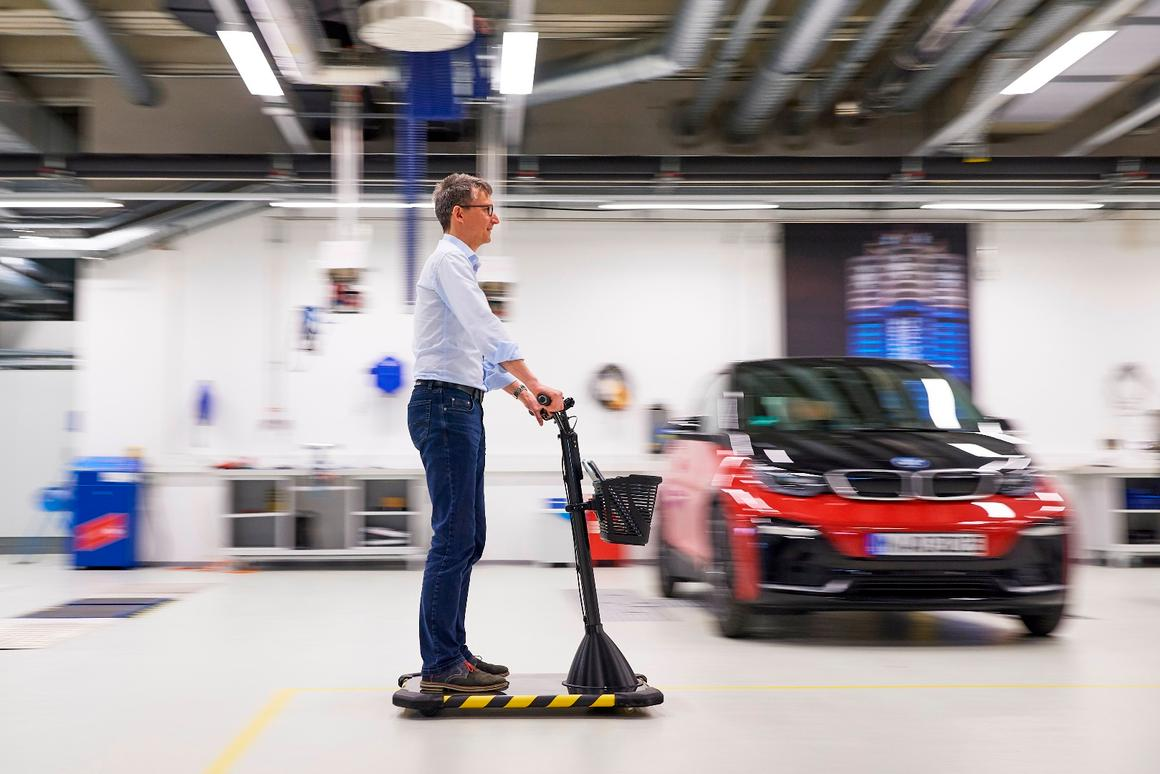 BMW has built five prototypes of its Personal Mover Concept so far