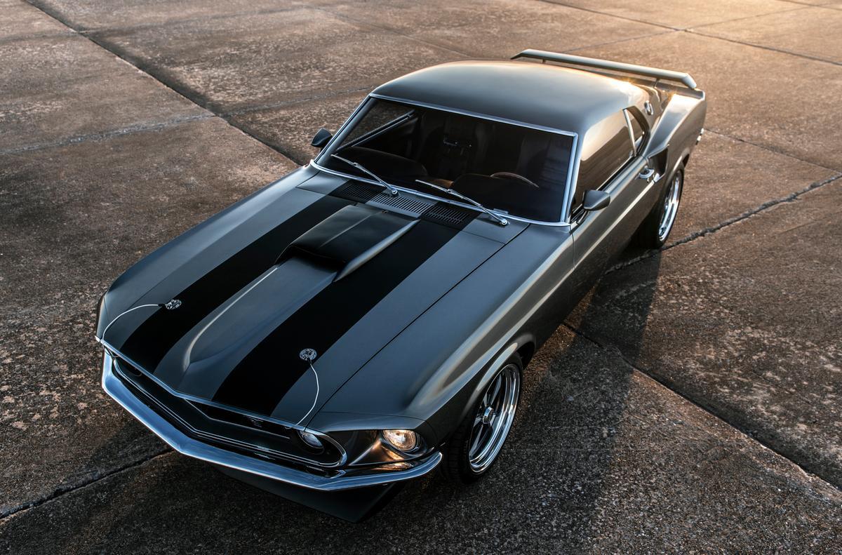 "The 1,000-hp 1969 Mustang Mach 1 ""Hitman"" with John Wick ..."