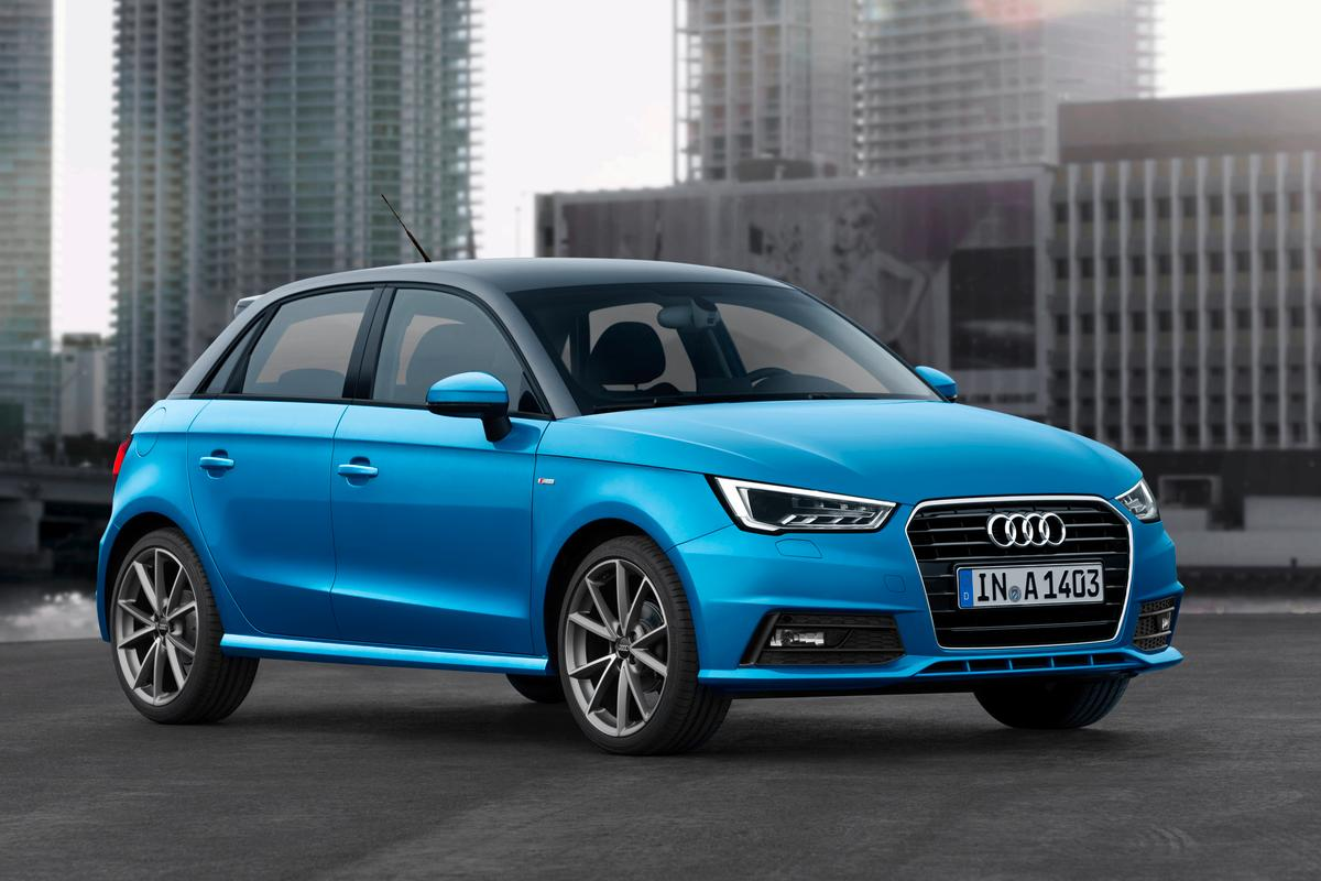 The A1 Sportback has been updated for 2015