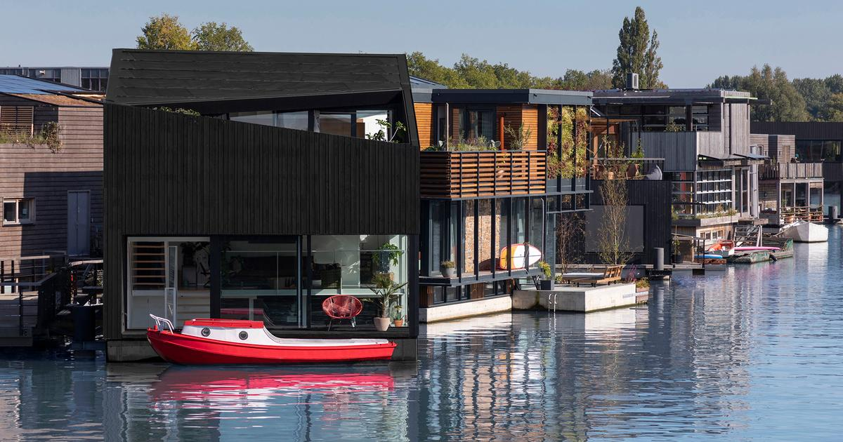 Europe's most sustainable floating village gets striking new addition