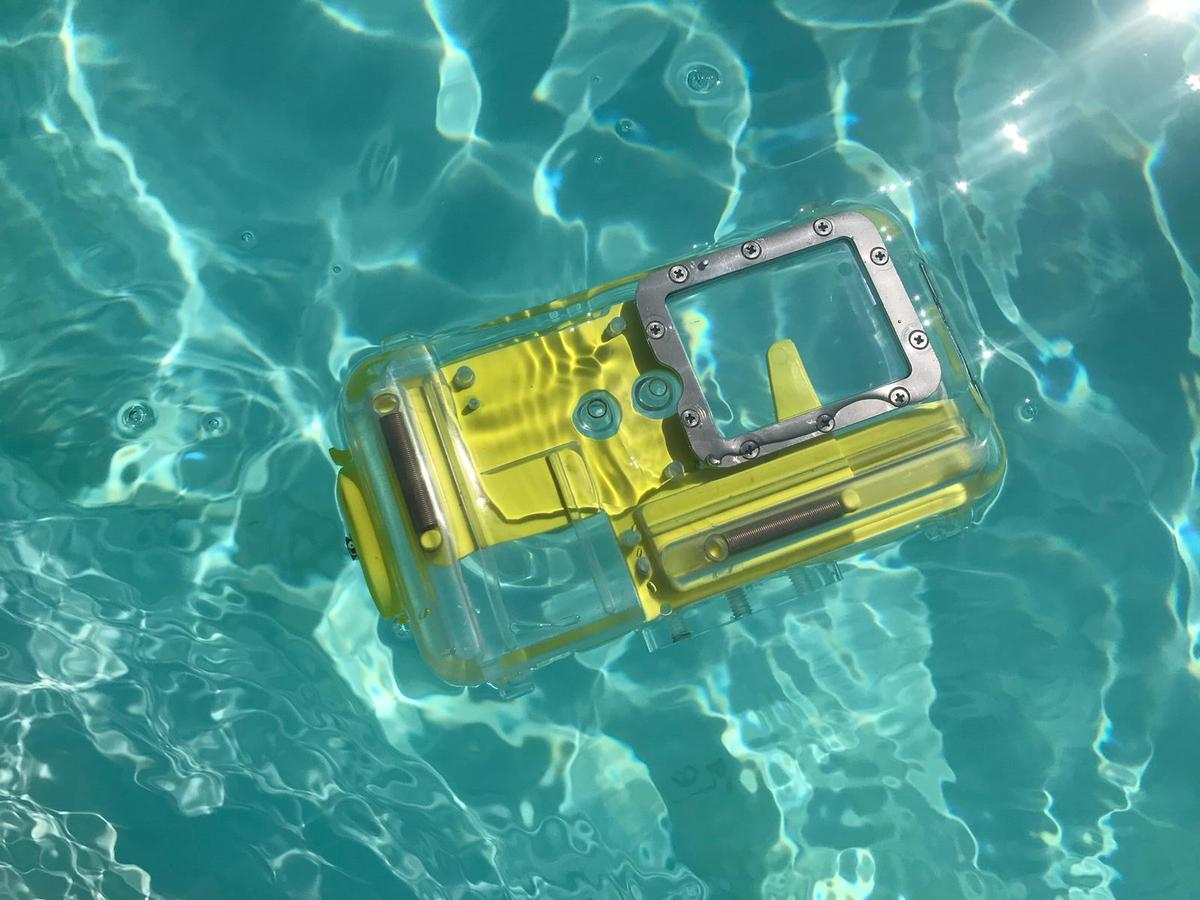 The Nautismart Pro is rated to a depth of 50 m (150 ft)