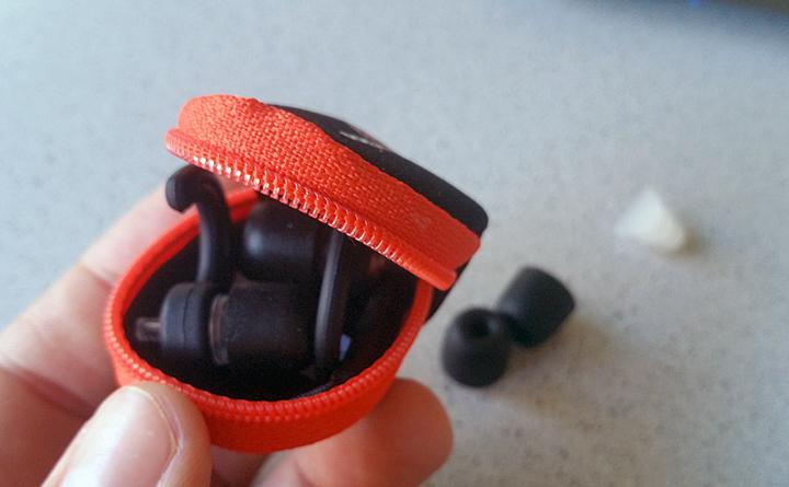 The ProSounds X-Pro ear plugs come with a cute, convenient carrying case for safe storage