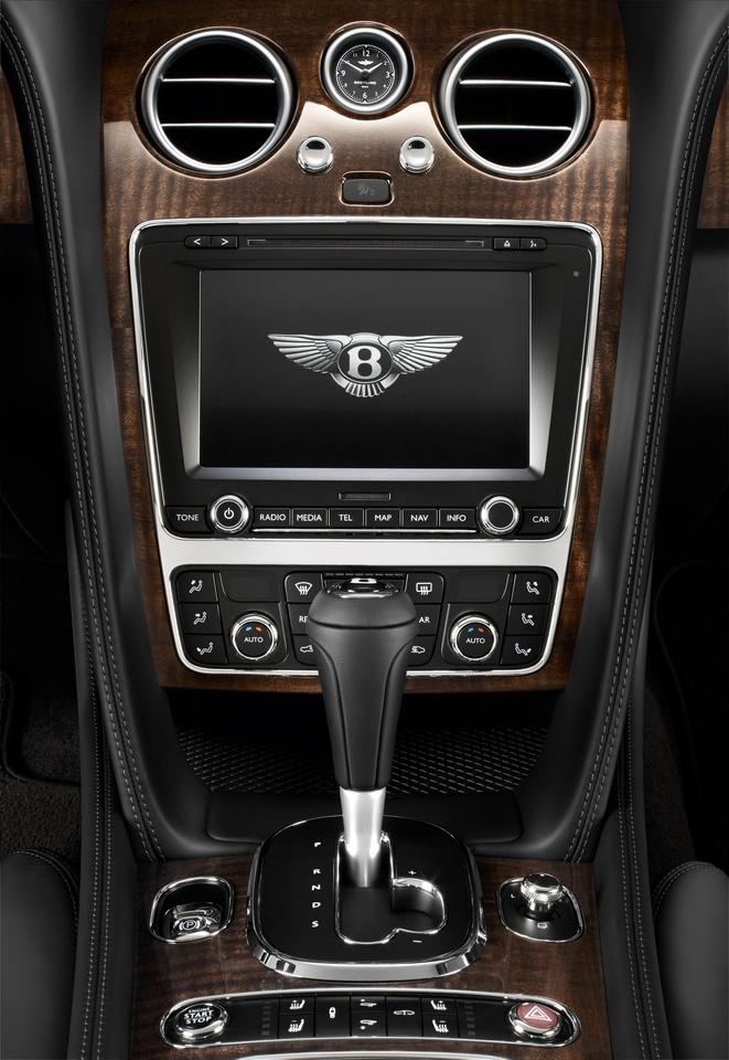 The center console gets updated with a black gear lever surround