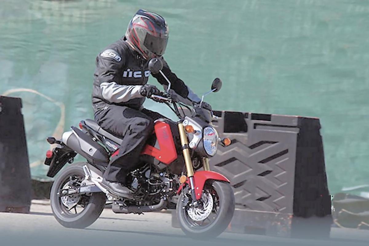 Honda's new Grom 125 cc motorcycle (Photo: Honda Powersports)