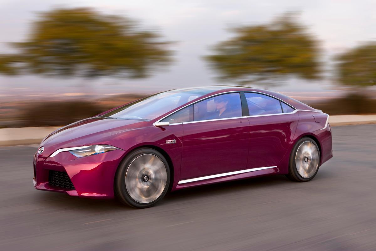Toyota's NS4 advanced plug-in hybrid concept that was unveiled in Detroit this week