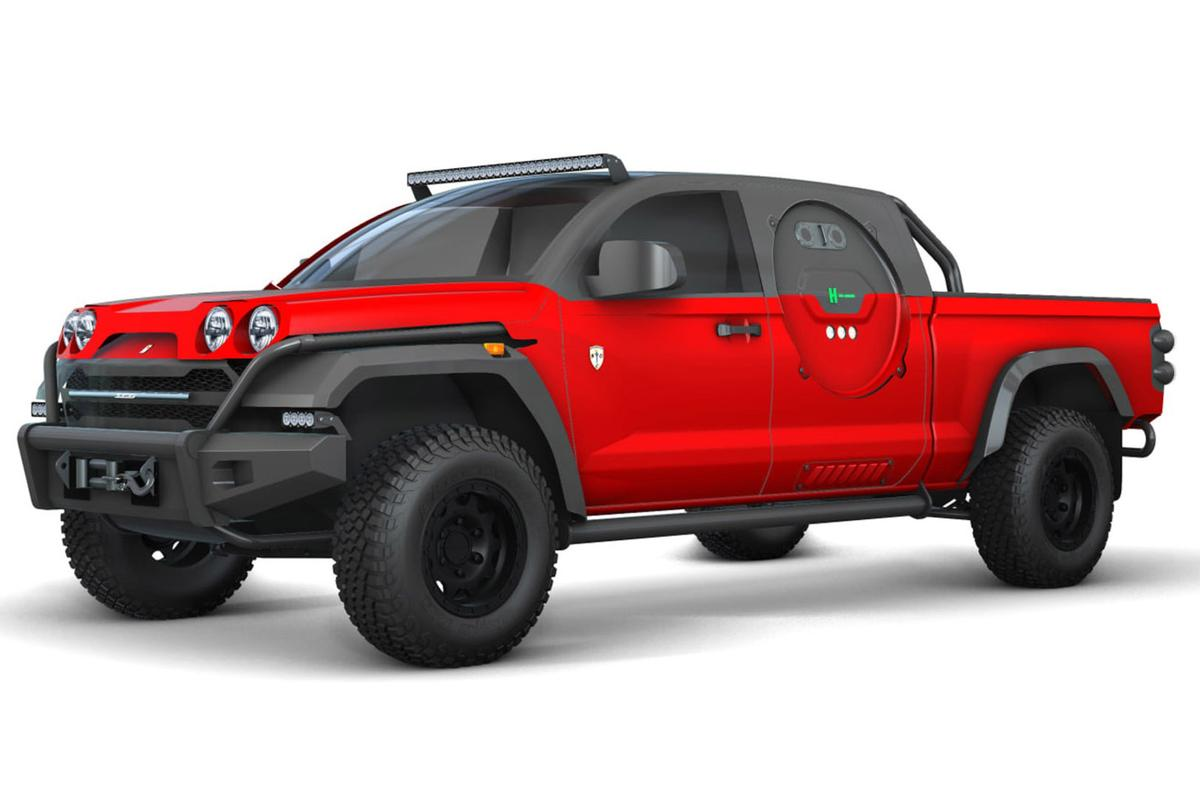 SCG wants to take this hydrogen racing truck down to the Baja 1000 and be the first zero-emissions vehicle to finish
