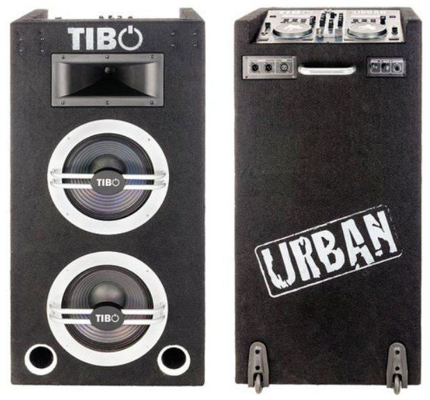 The Urban 500 all-in-one portable DJ station from Tibo Electronics