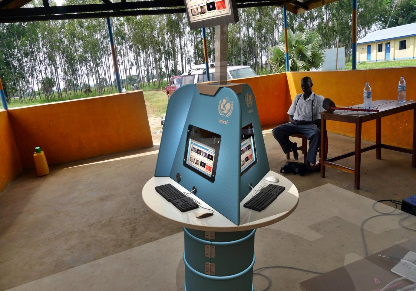 The new Digital Drum 2.0 from UNICEF and partners