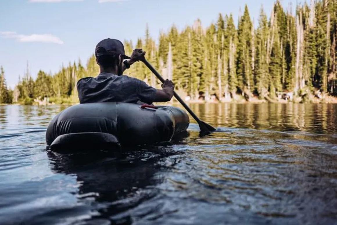 The Rapid Raft can be inflated in less than 60 seconds
