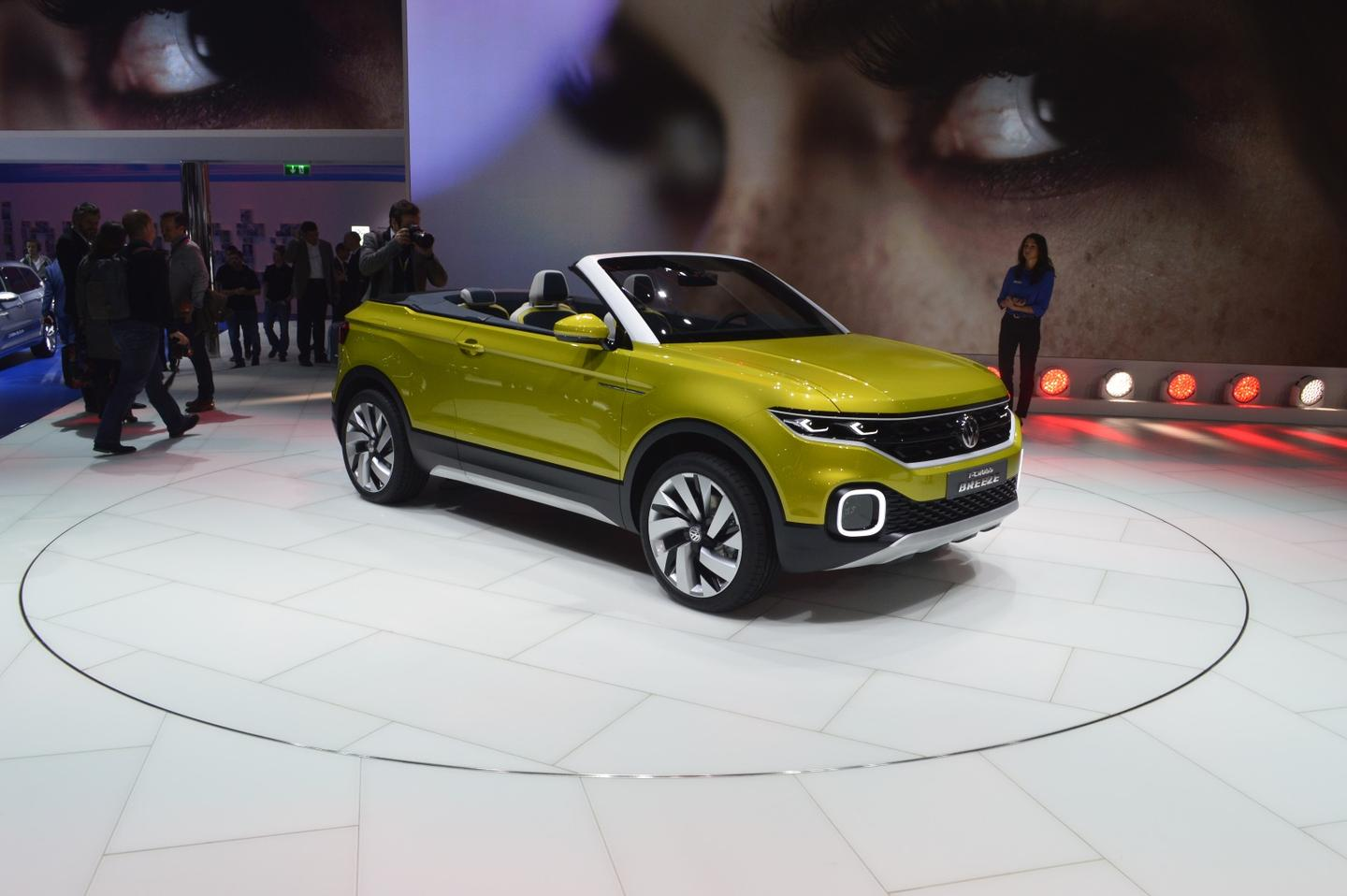 In a nutshell, the T-Cross is a downsized, two-door, convertible Tiguan