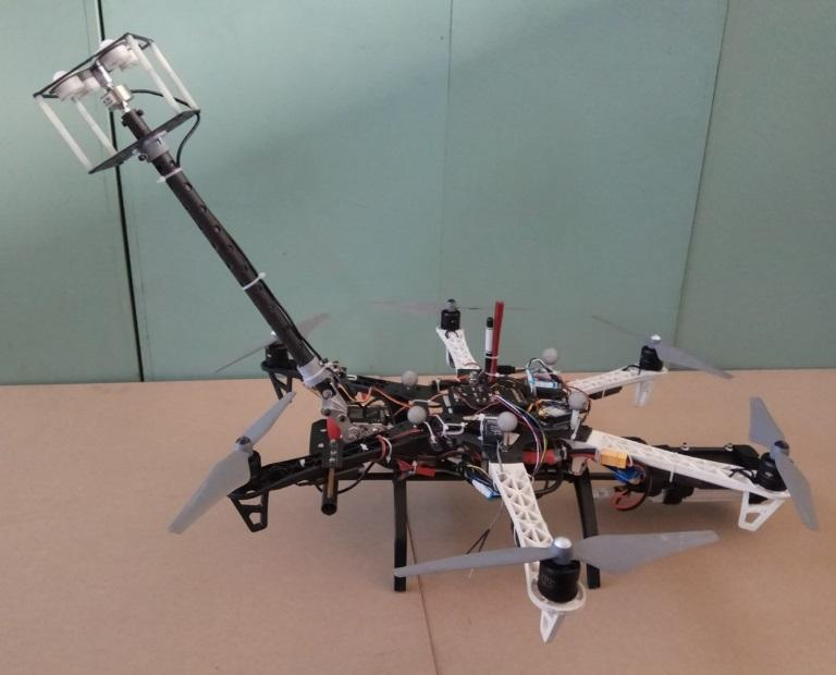 SIA's experimental hexacopter