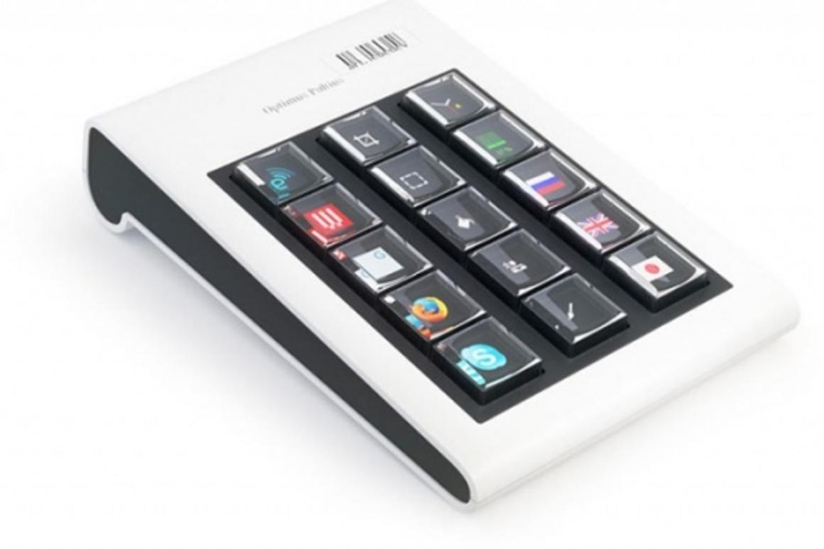 The Optimus Pultius keyboard