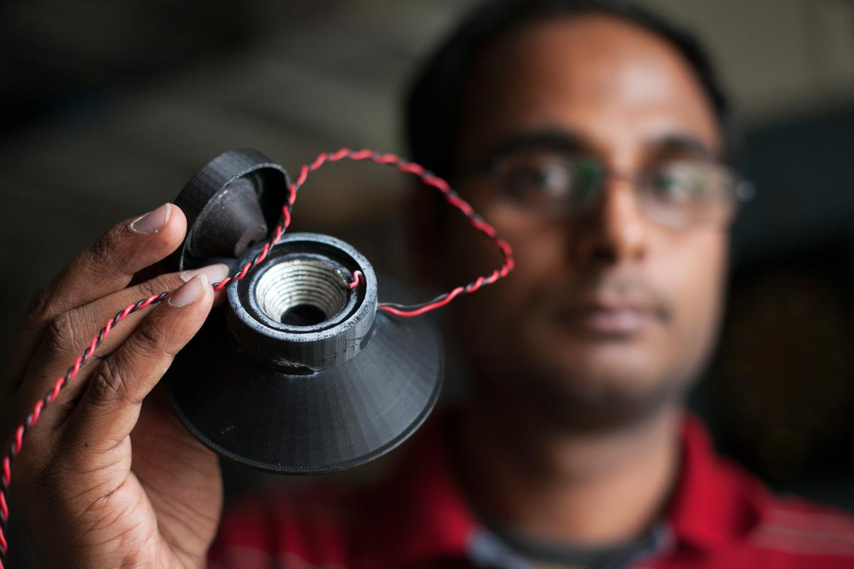 A research team from Cornell University's Creative Machines Lab has managed to 3D print the cone, coil and magnet of a loudspeaker