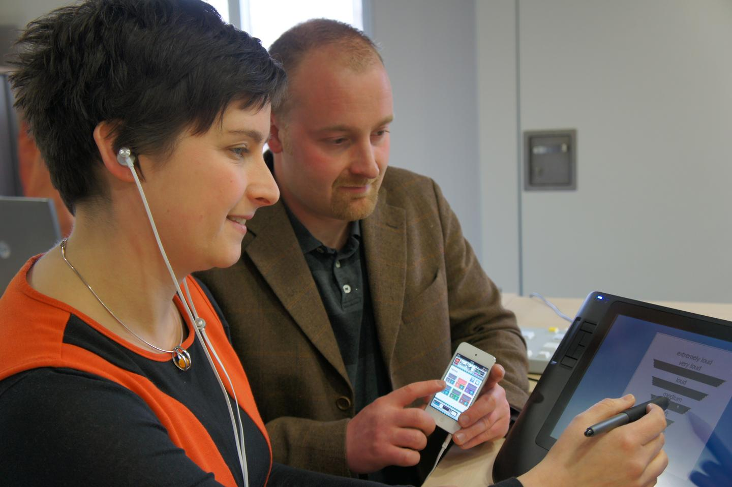 BioAid is a free app that allows the iPhone to work as a user-adjustable hearing aid