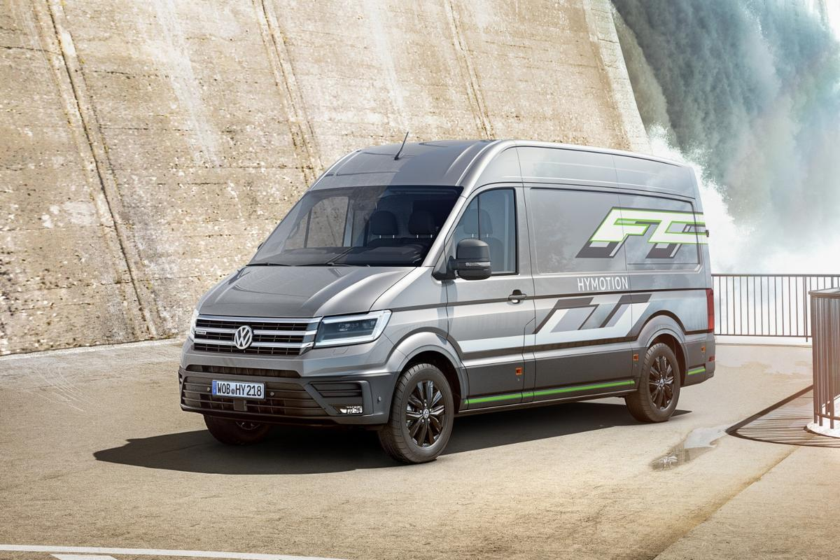 The Crafter HyMotion remains a concept vehicle for now