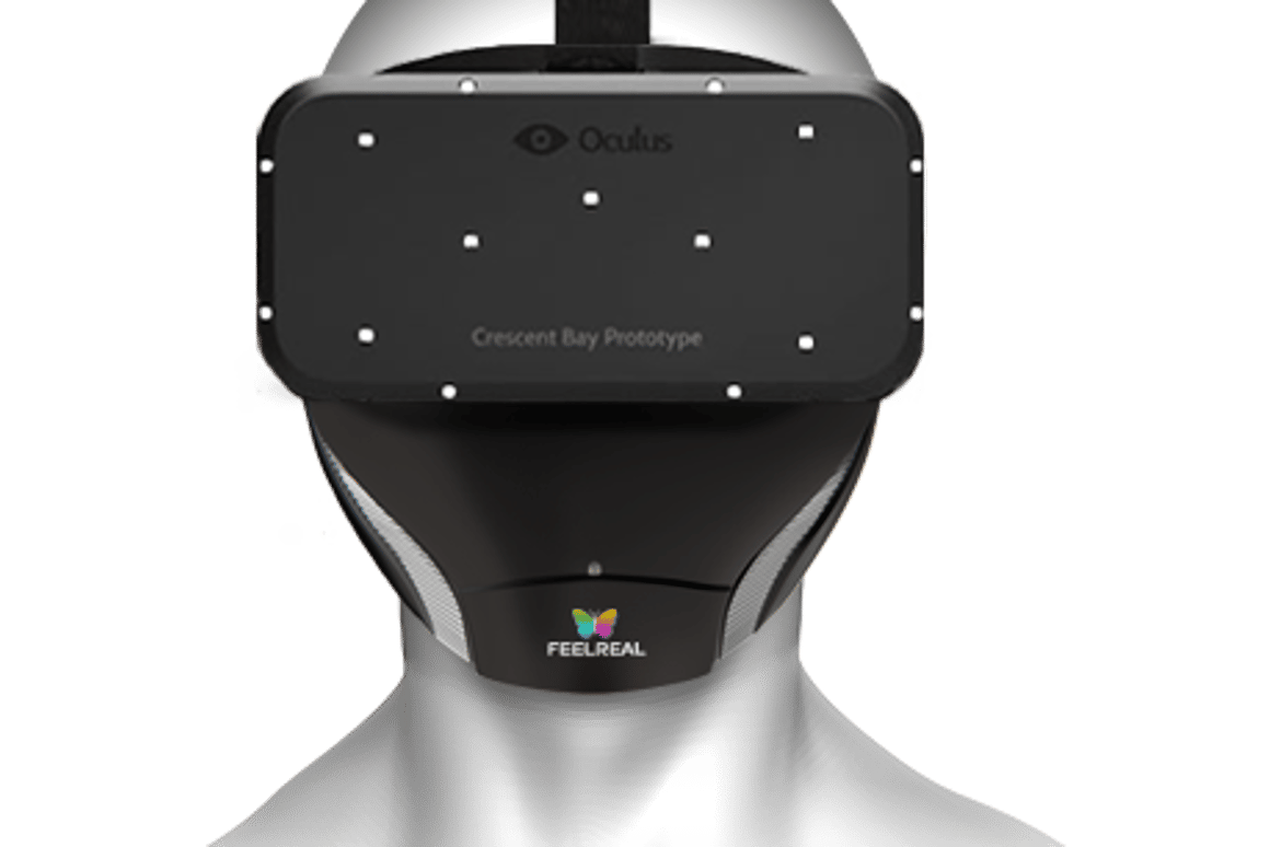 Feelreal hopes its VR mask and helmet will bring two more senses – smell and feel – to the virtual reality experience
