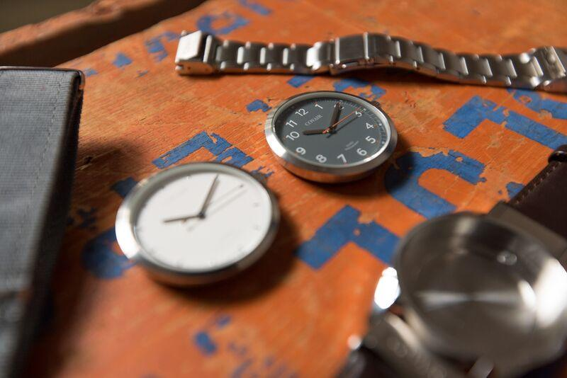 A Covair watch stripped down to reveal its constituent parts