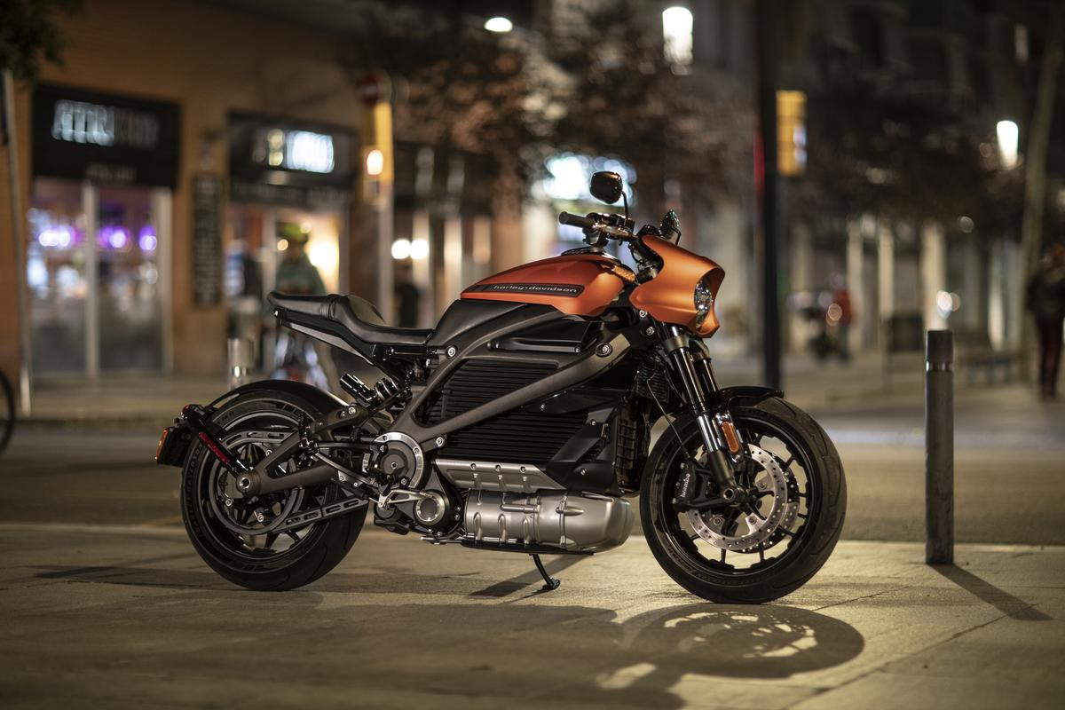 The 2020 Harley-Davidson Livewire is designed for urban riding