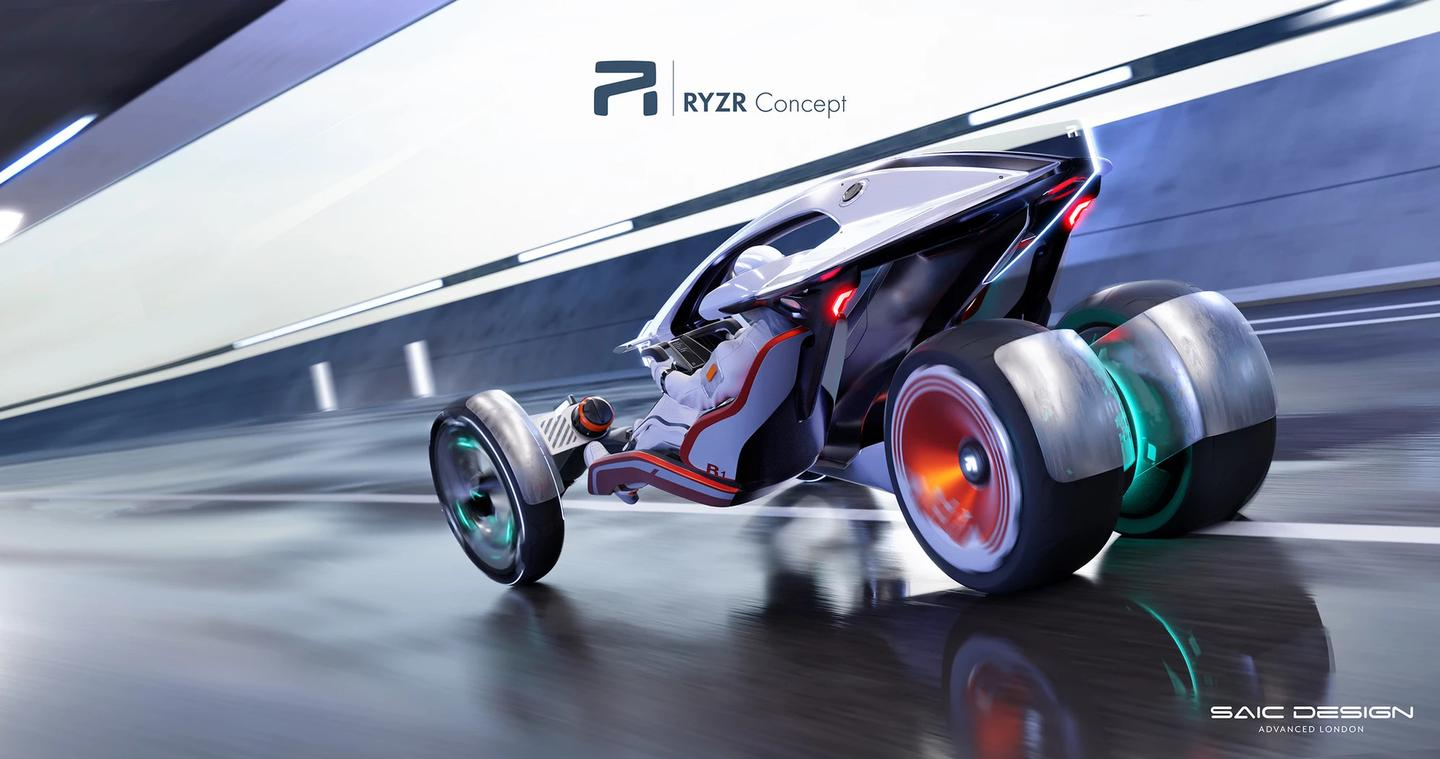 No power or range specs are listed, because the RYZR will never exist