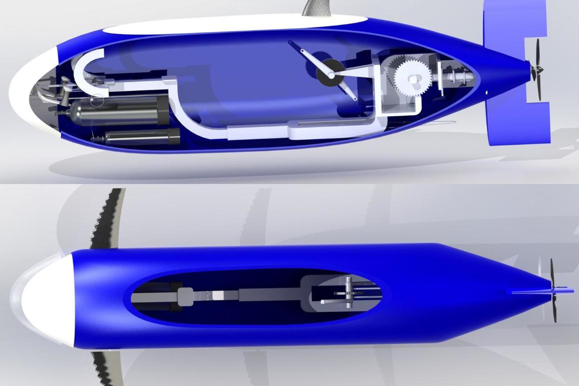 Students set sights on human-powered submarine speed record