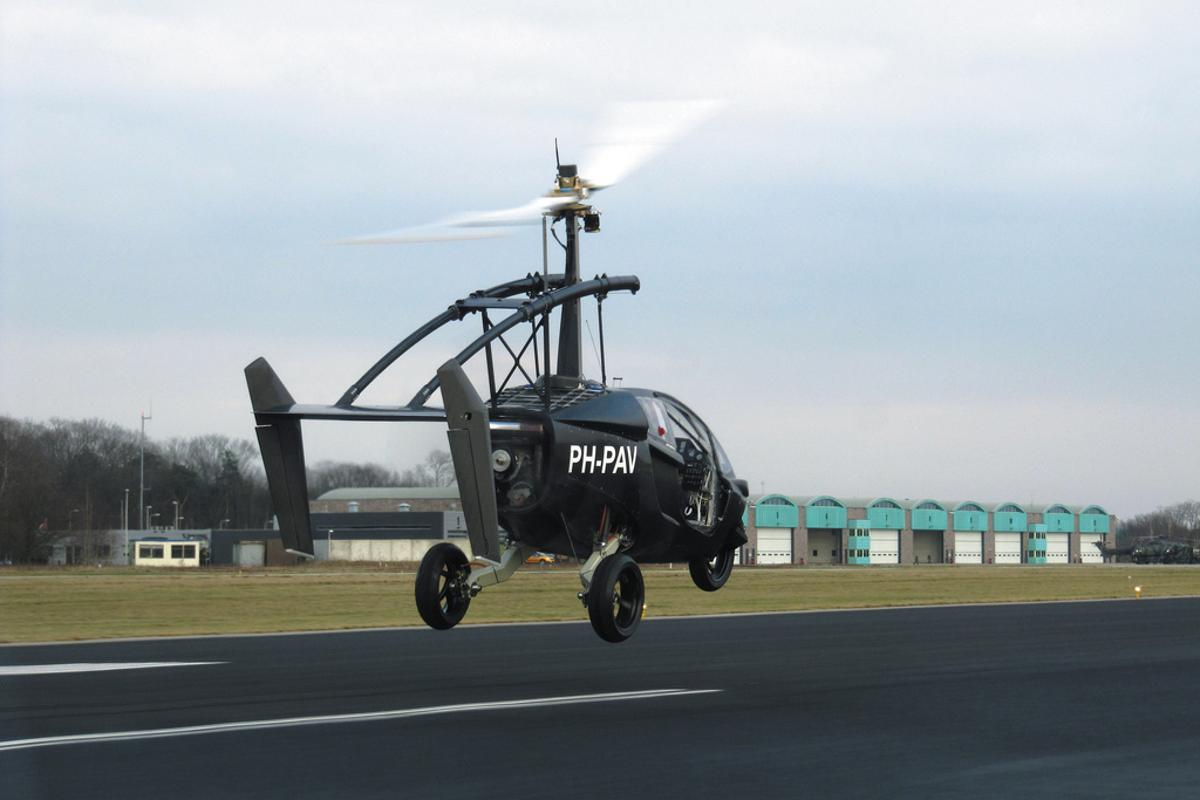 The PAL-V takes to the air on a successful test flight (Photo: PAL-V)