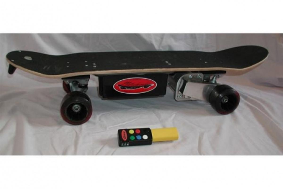 The Metroboard electric skateboard