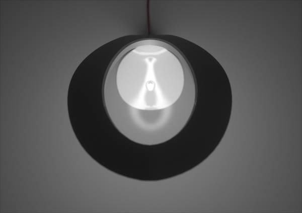 A view of the Motion Lamp from above