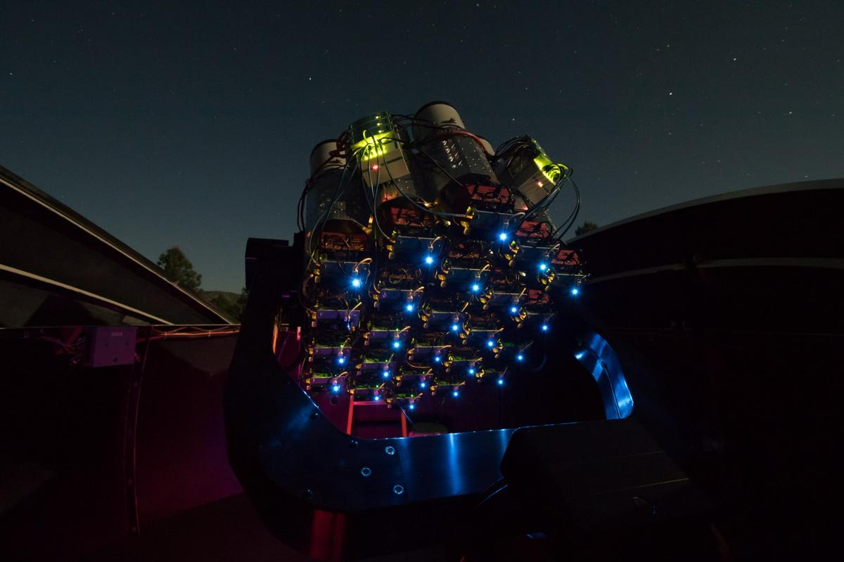 The Dragonfly Telephoto Array is good at spotting dim objects that other telescopes might miss