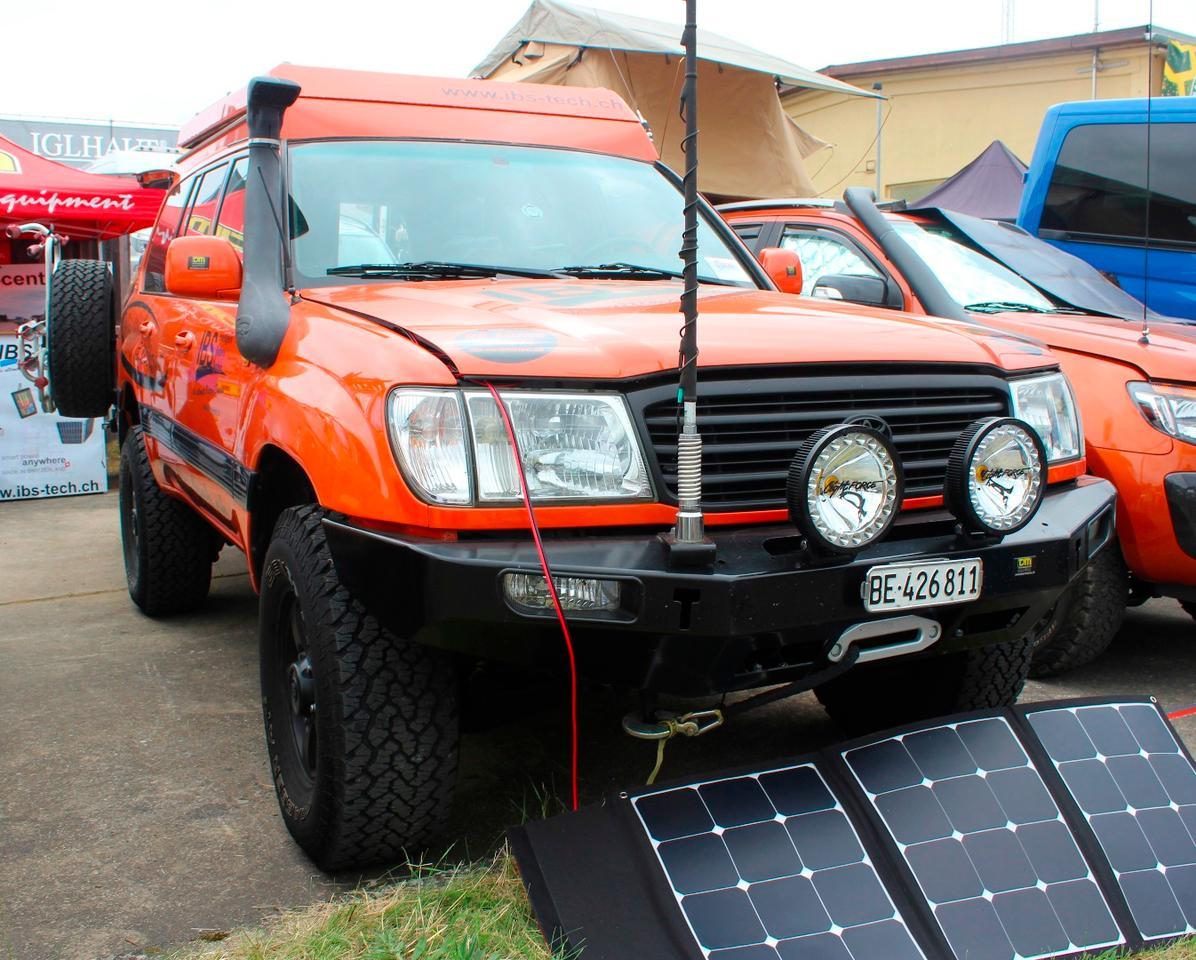 Expedition trucks of Abenteuer &Allrad 2018